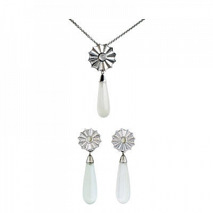Interchangeable Moonstone Set