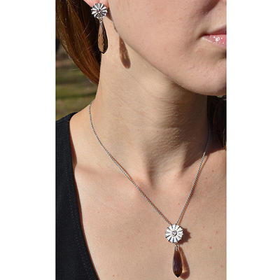 Interchangeable Smoky Quartz Set