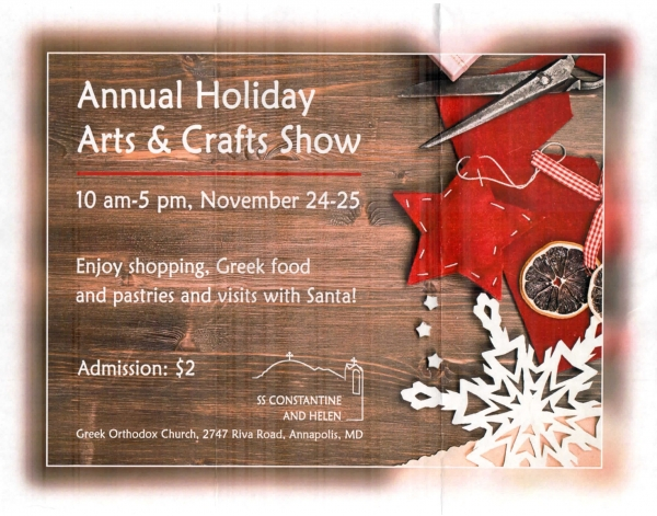 Annual Holiday Arts & Crafts Show